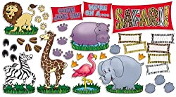 Safari Animals Bulletin Board