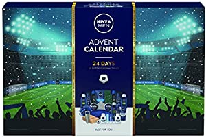 Nivea Adventskalender 2020 för Män med 24 NIVEA Herrprodukter