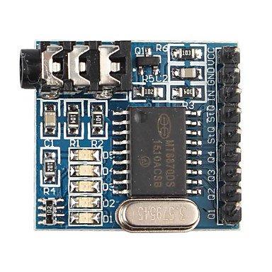 ULIAN Arduimo accessonries Module/Sensoren für Arduino MT8870 DTMF Voice Decoder Modul