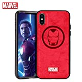 TinPlanet Marvel Avengers Endgame iPhone Xs Case/iPhone X Case, Iron Man (Red)