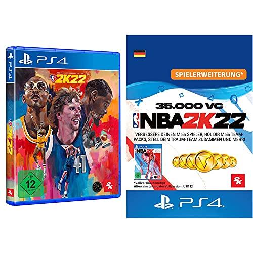 NBA 2K22 75th Anniversary Edition - [Playstation 4] + 35,000 VC (Download Code - deutsches Konto)