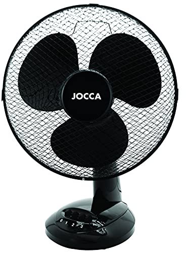 Ventilador de Sobremesa Jocca 1468N/ 45W/ 3 Aspas 30cm/ 3 velocidades