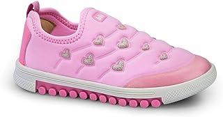 Tênis Infantil Bibi Feminino Rosa Com Glitter Roller New 679512
