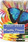 2021-2022 Monthly Planner Pretty Butterfly: 2 years Monthly planner with calendar designed to be easy for smooth use. You'll look good wherever you ... just for you (Pretty Butterfly Planners)