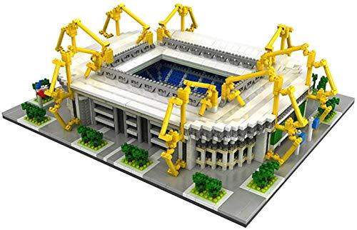 hsj Gebäude Sets, 3D-Modell Puzzle Lernspielzeug, Blöcke DIY Spielzeug, Souvenir for Kind und Erwachsen Exquisite Verarbeitung