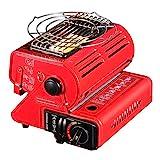 Camplux JK-1000 Portable Butane Heater, 4,400 BTU Outdoor Camping Gas Heater, Patio Heaters...