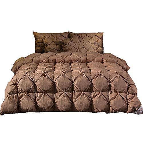 Hahaemall Double duvet king size duvet Super king Winter Warm Season Non Allergenic Hollowfibre Duvet full cotton duvet-B_150*200cm-2000g