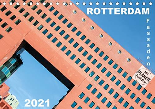Rotterdam Fassaden (Tischkalender 2021 DIN A5 quer)