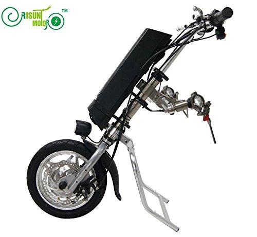 36V 250W elektrischer Rollstuhl Antrieb DIY Umbausatz Kits mit 36V 9AH Li-Ionbatterie Akku