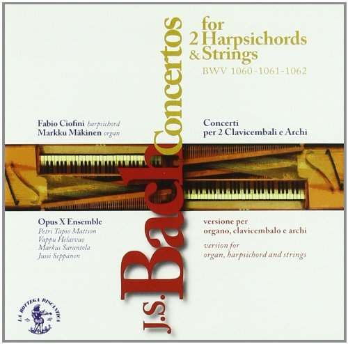 Concertos for 2 Harpsichords & Strings by Fabio Ciofini (2005-02-18)