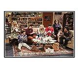 tgbhujk Wandbild-Fernsehserie The Big Bang Theory Poster
