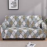 Fundas de sofá Protectoras de sofá-Pieles para Sala de Estar Funda elástica elástica Fundas seccionales para sofá de Esquina A10 1 Plaza