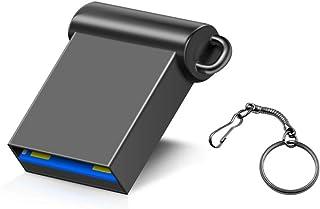 LCDXBDXKA USB 3.0 Memory Stick 16gb 32gb 64gb 128gb Metal USB Flash Drive Pen Drive U Disk with Keychain