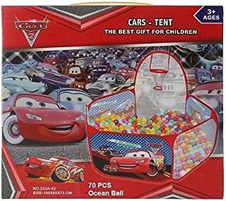 Ball Pit Cars Tent 70 Pcs Ocean Balls For Kids