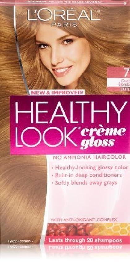 太平洋諸島青水を飲むHealthy Look Dark Blonde, Latte by L'Oreal Paris Hair Color [並行輸入品]