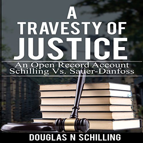 Travesty of Justice audiobook cover art