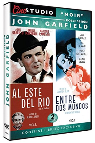 Doble Sesión John Garfield: Al Este del Rio + Entre dos Mundos (East of the River + Between Two Worlds) V.O.S.