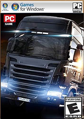 EPC Games- PC Game E-U-R-O T-R-U-C-K Simulator Adventure (Digital Download) No DVD/CD (No Online Multiplayer) - Single Player Mode (PC)