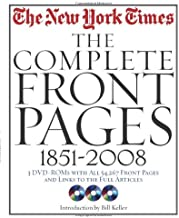 New York Times: The Complete Front Pages: 1851-2008