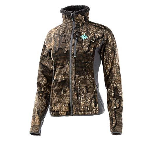 Nomad Outdoor Damen Harvester Jacke, Damen, W Harvester Jacket, Realtree Holz, X-Large