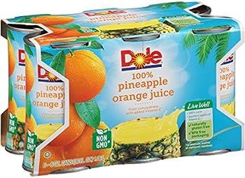 Pack of 48 Dole Pineapple Orange Juice 6 Ounce