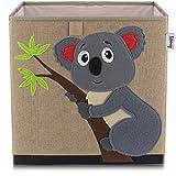 LIFENEY baul Juguetes I una práctica Caja de Almacenamiento para Cada Cuarto de niños I baul Juguetes Infantil I Caja Juguetes I almacenaje Juguetes (Koala marón)