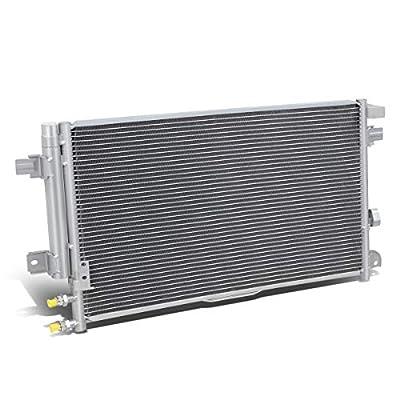 DNA Motoring OEM-CDS-3746 3746 Aluminum Air Conditioning A/C Condenser