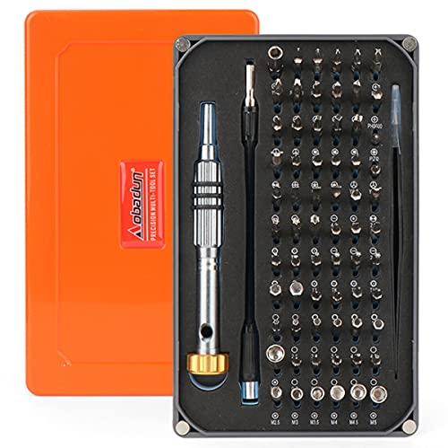 Juego de destornilladores de precisión 68PCS Kit de herramientas de reparación multifuncional para iPhone, vidrio...