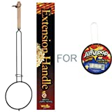 Campfire Popcorn Holder for Jiffy Pop or Similar Poppers by Popcorn Popper Extension Handle