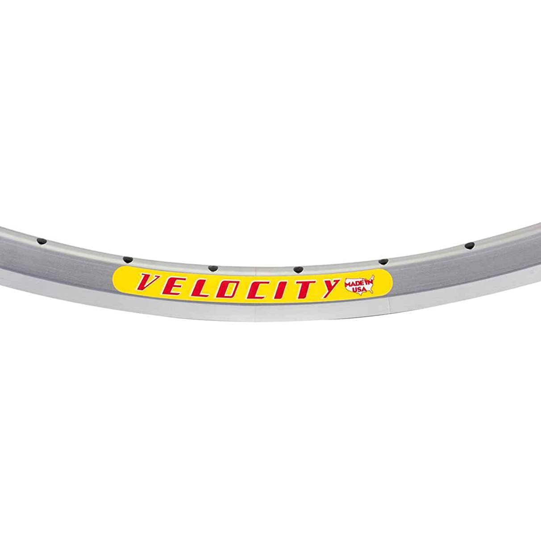 Velocity Dyad Rim, 700c 48h Silver