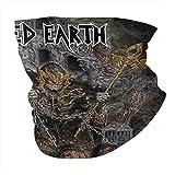 Iced Earth Bandanas Headwear Seamless Neck Gaiter Scarf For Dust Headwrap, Balaclava Cool...