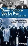 Dans l'ombre des Le Pen : Une histoire des numéros 2 du FN