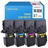 MyCartridge Kompatibel Kyocera TK-5230 Toner für Kyocera Ecosys M5521CDN M5521CDW P5021CDN P5021CDW(Schwarz/Cyan/Magenta/Gelb)