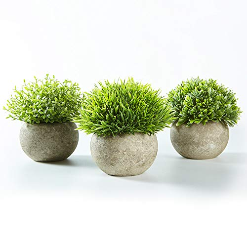 Jobary Set of 3 Artificial Green...