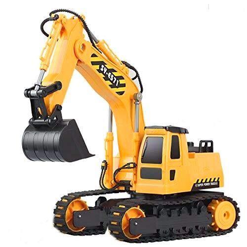 Hosim 1:26 Remote Control Truck RC Excavator Toy with...