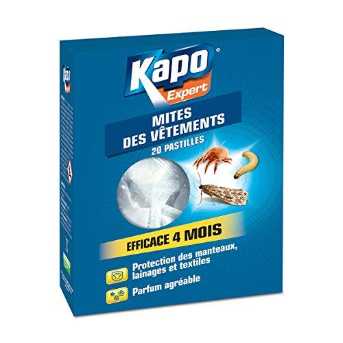 Pastilles anti-mites et acariens KAPO Expert (20 pastilles)