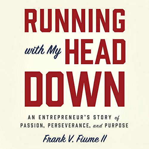Running with My Head Down audiobook cover art