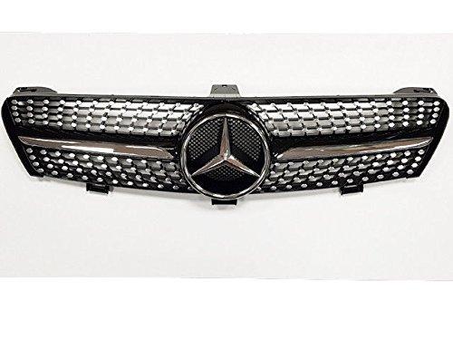 Mercedes W219 C219 CLS Diamant GITTER GRILL AMG OPTIK 2008 AB