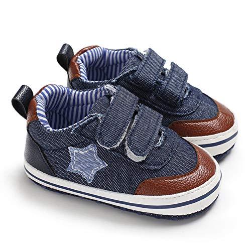 DBSUFV Plantilla Suave Zapatos de Tacones Planos de Lona de Corte bajo para bebés y niñas Zapatillas con Cordones