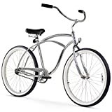 Firmstrong Urban Man Beach Cruiser Bike, Mens Bicycle 26-Inch, 1-Speed, Chrome