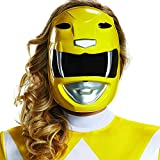 Disguise Women's Yellow Ranger Mask, One Size Adult