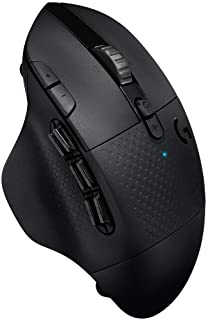 Logitech G604 LIGHTSPEED Wireless Gaming Mouse with 15 Programmable Controls, Up to 240-Hour Battery Life, Dual Wireless C...