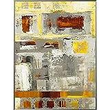 International Graphics - Impresión de arte enmarcado - JADA - ''Energy in Motion I''- 61 x 81 cm - Color del marco: Pearl Mercury - Serie ATHOS