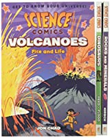 Science Comics Boxed Set: Volcanoes, Dinosaurs, and Rocks and Minerals (Science Comics, 1)