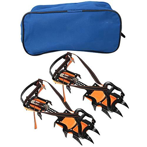 Alomejor 1 Paire Pointe de Chaussure Crampons de Glace Griffe de Printemps ExtéRieure à 12 Dents