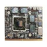 Original Graphics Video Card Replacement for Apple iMac Core i3 3.2 Mid-2010 21.5 Inch Desktop Computer A1311 MC509LL/A MC509, AMD ATI Radeon HD 5670 GDDR3 512MB, GPU Board Repair Parts