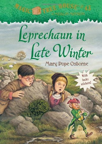 By Mary Pope OsborneMagic Tree House #43: Leprechaun in Late Winter (A Stepping Stone Book(TM))[Paperback] January 24, 2012