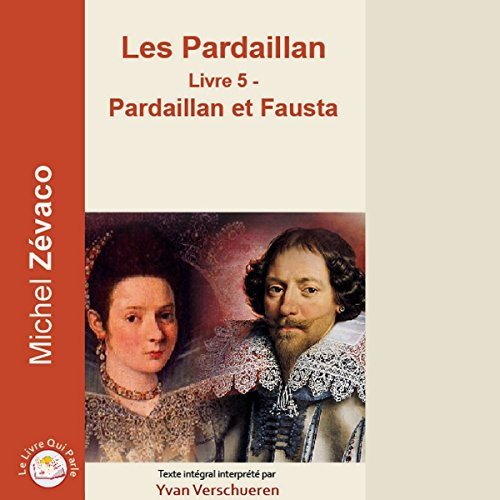 Pardaillan et Fausta audiobook cover art