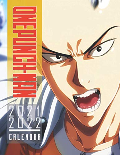 One-Punch Man: 2021 – 2022 Calendar – 18 months – 8.5 x 11 inch High Quality Images