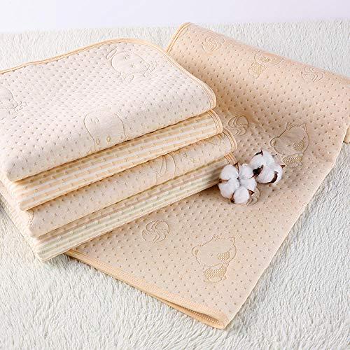 Babyluier, waterdicht, wasbaar, voor pasgeborenen, katoen, doek, matras, zomer ademend. 120x200cm 3 paquete